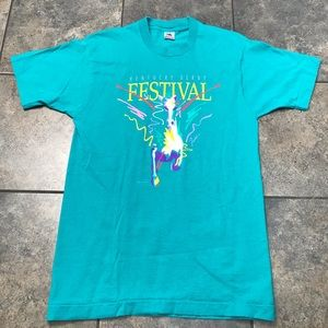VTG 1991 Kentucky Derby S/S T-Shirt Size Large